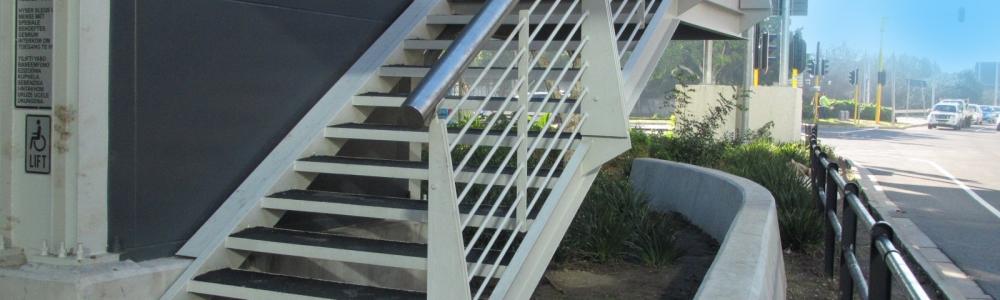 Arcrite Engineering staircase, walkways