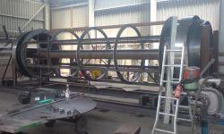 scrap metal trommel seperator