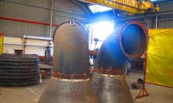 Arcrite Engineering x-ray welding pressure vessels piping pipe petro-chemical conical cone