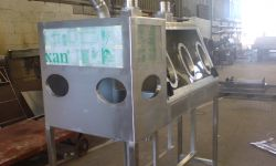 stainless steel glove boxes diamond picking arcrite engineering