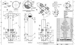 ENGINEERING MANUFACTURING DETAIL DRAWINGS