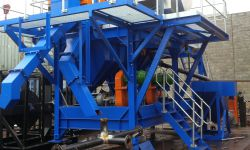 Modular plants chutes, hoppers, piping arcrite engineering
